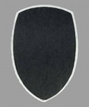Шеврон жаккардовый полиции серый ключ