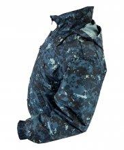 Ветровка цифра темно-синяя синтепон