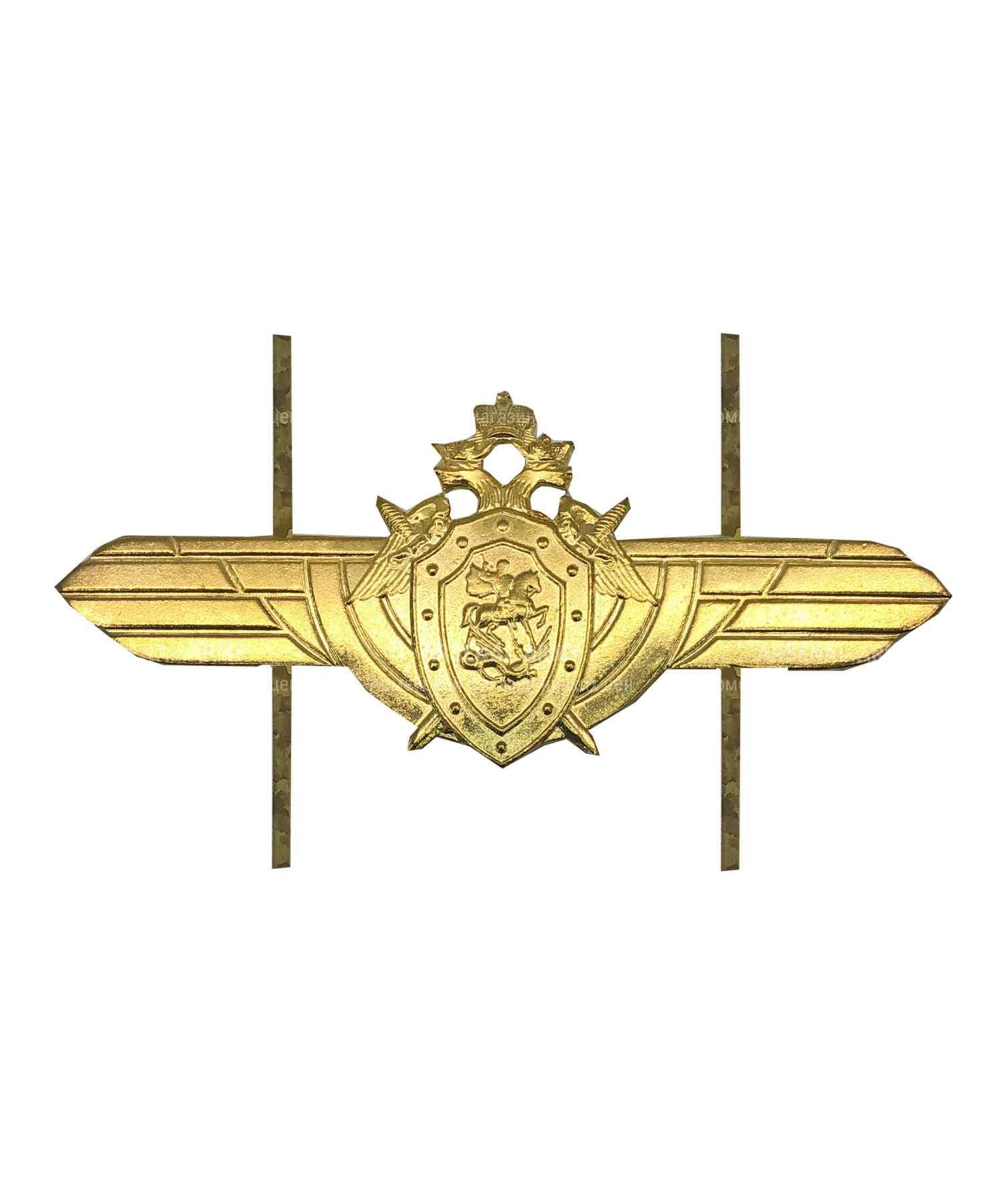 Эмблема на тулью СК