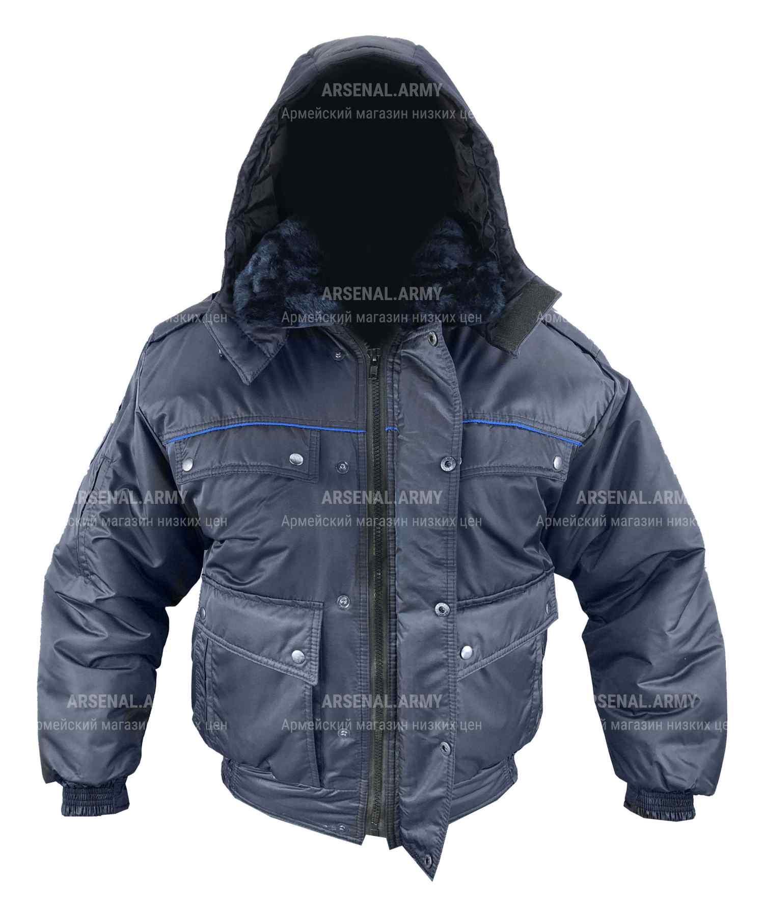 Куртка зимняя юстиции короткая