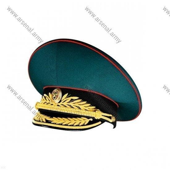 Фуражка ВС генеральская парадная с черным околышем