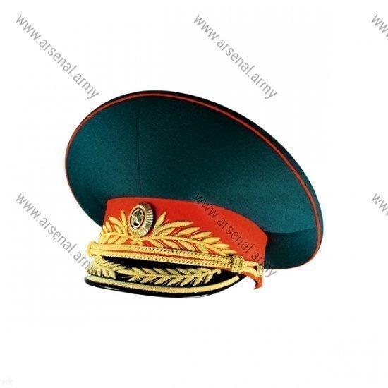 Фуражка ВС генеральская парадная с красным околышем