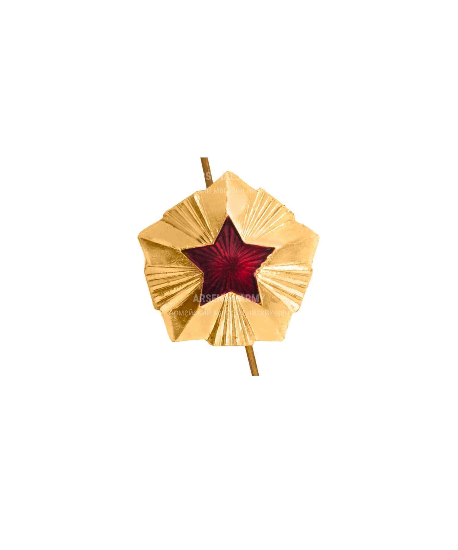 Звезда на погоны Таможня 14 мм